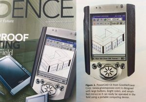 PowerCAD CE pioneered Mobile CAD in 2000