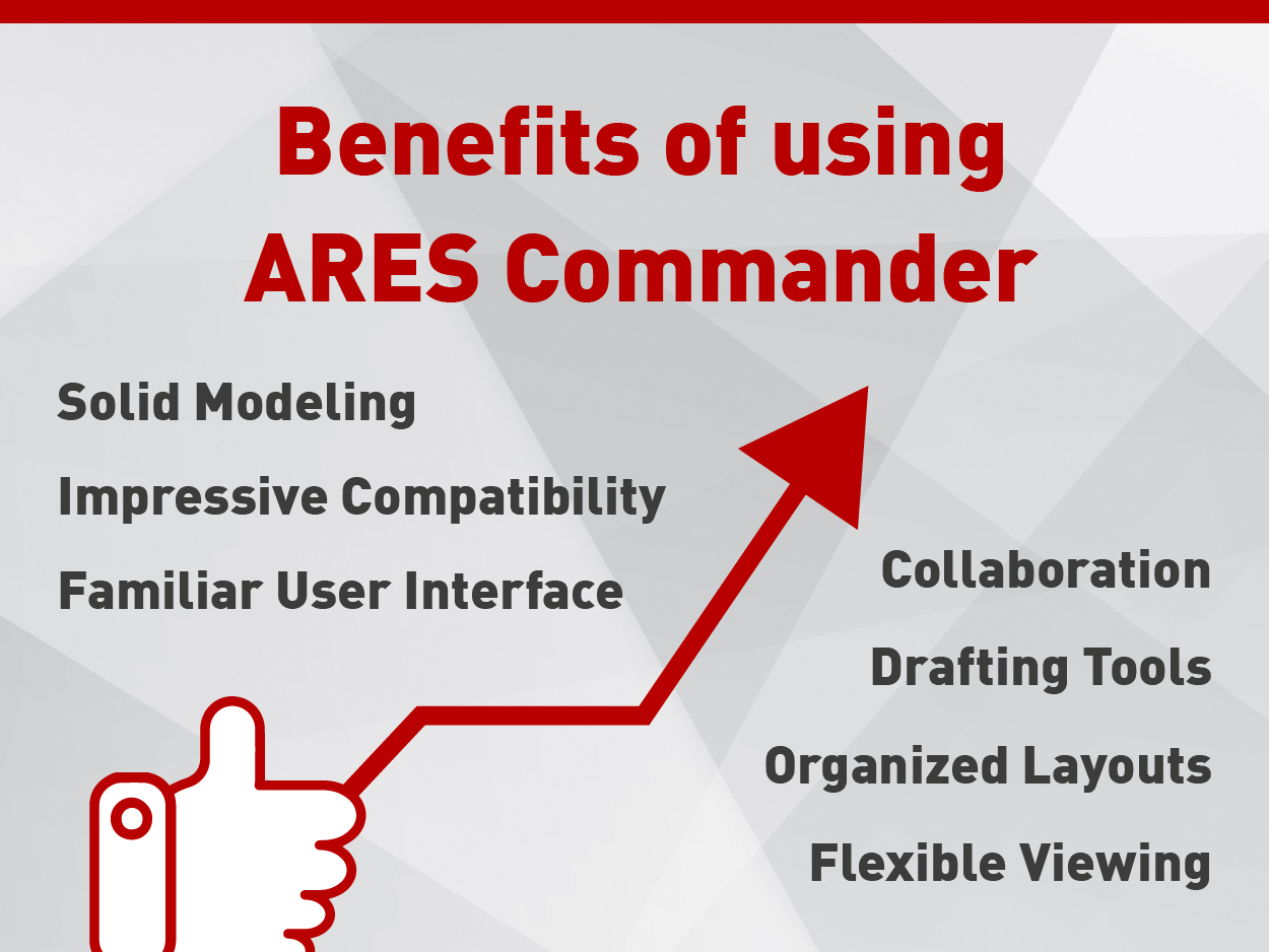Benefits of using CAD Software ARES Commander