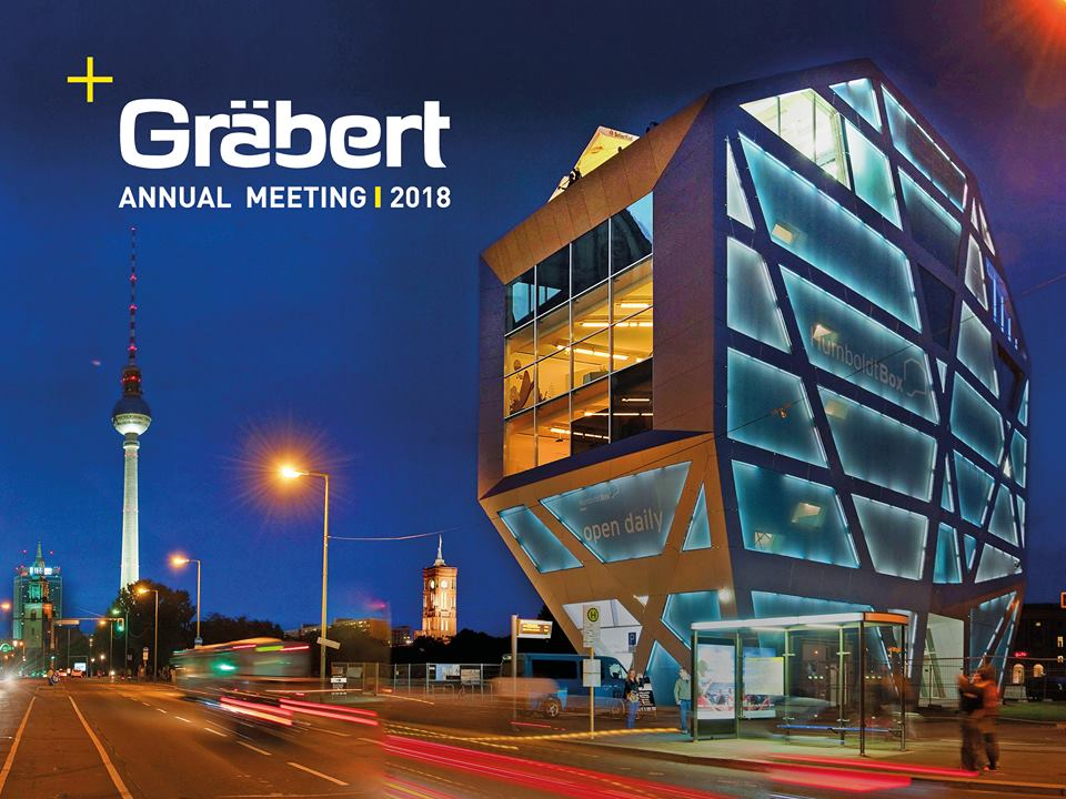 Graebert Annual Meeting 2018 to be held at he Humboldt-Box in Berlin, Germany