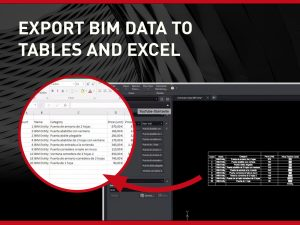 Export BIM Data to Tables and Excel