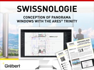 SWISSNOLOGIE CONCEPTION OF PANORAMA WINDOWS WITH THE ARES® TRINITY