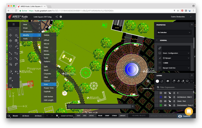 2D & 3D CAD Software for DWG editing - ARES Commander
